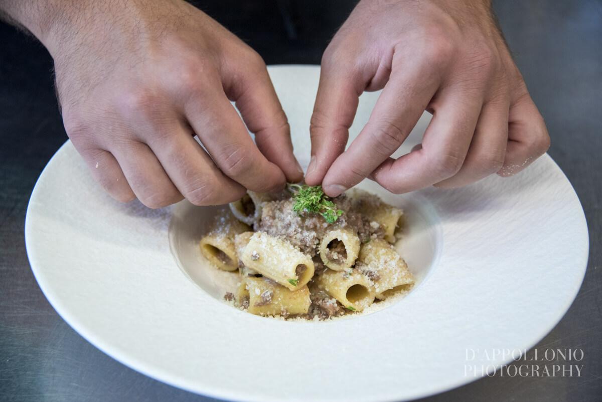 Lo chef Alessandro Pinca dell'Uliveto Roof Garden